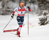 Thea Krokan Murud of Norway skiing in qualification for women classic sprint race of Viessmann FIS Cross country skiing World cup in Planica, Slovenia. Women sprint classic race of Viessmann FIS Cross country skiing World cup was held on Saturday, 20th of January 2018 in Planica, Slovenia.