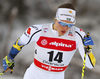 Linn Soemskar of Sweden skiing in qualification for women classic sprint race of Viessmann FIS Cross country skiing World cup in Planica, Slovenia. Women sprint classic race of Viessmann FIS Cross country skiing World cup was held on Saturday, 20th of January 2018 in Planica, Slovenia.