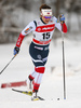 Maiken Caspersen Falla of Norway skiing in qualification for women classic sprint race of Viessmann FIS Cross country skiing World cup in Planica, Slovenia. Women sprint classic race of Viessmann FIS Cross country skiing World cup was held on Saturday, 20th of January 2018 in Planica, Slovenia.