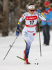 Anna Dyvik of Sweden skiing in qualification for women classic sprint race of Viessmann FIS Cross country skiing World cup in Planica, Slovenia. Women sprint classic race of Viessmann FIS Cross country skiing World cup was held on Saturday, 20th of January 2018 in Planica, Slovenia.