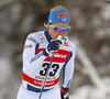 Anne Kylloenen of Finland skiing in qualification for women classic sprint race of Viessmann FIS Cross country skiing World cup in Planica, Slovenia. Women sprint classic race of Viessmann FIS Cross country skiing World cup was held on Saturday, 20th of January 2018 in Planica, Slovenia.