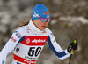 Johanna Matintalo of Finland skiing in qualification for women classic sprint race of Viessmann FIS Cross country skiing World cup in Planica, Slovenia. Women sprint classic race of Viessmann FIS Cross country skiing World cup was held on Saturday, 20th of January 2018 in Planica, Slovenia.