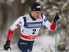 Paal Golberg of Norway skiing in qualification for men classic sprint race of Viessmann FIS Cross country skiing World cup in Planica, Slovenia. Men sprint classic race of Viessmann FIS Cross country skiing World cup was held on Saturday, 20th of January 2018 in Planica, Slovenia.