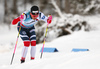 Johannes Hoesflot Klaebo of Norway skiing in qualification for men classic sprint race of Viessmann FIS Cross country skiing World cup in Planica, Slovenia. Men sprint classic race of Viessmann FIS Cross country skiing World cup was held on Saturday, 20th of January 2018 in Planica, Slovenia.