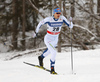 Anssi Pentsinen of Finland skiing in qualification for men classic sprint race of Viessmann FIS Cross country skiing World cup in Planica, Slovenia. Men sprint classic race of Viessmann FIS Cross country skiing World cup was held on Saturday, 20th of January 2018 in Planica, Slovenia.