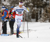 Viktor Thorn of Sweden skiing in qualification for men classic sprint race of Viessmann FIS Cross country skiing World cup in Planica, Slovenia. Men sprint classic race of Viessmann FIS Cross country skiing World cup was held on Saturday, 20th of January 2018 in Planica, Slovenia.