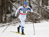 Toni Ketelae of Finland skiing in qualification for women classic sprint race of Viessmann FIS Cross country skiing World cup in Planica, Slovenia. Women sprint classic race of Viessmann FIS Cross country skiing World cup was held on Saturday, 20th of January 2018 in Planica, Slovenia.