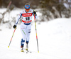 Riitta-Liisa Roponen of Finland skiing in women 10km classic race of Viessmann FIS Cross country skiing World cup in Planica, Slovenia. Women 10km classic race of Viessmann FIS Cross country skiing World cup was held on Sunday, 21st of January 2018 in Planica, Slovenia.