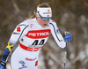 Maria Nordstroem of Sweden skiing in women 10km classic race of Viessmann FIS Cross country skiing World cup in Planica, Slovenia. Women 10km classic race of Viessmann FIS Cross country skiing World cup was held on Sunday, 21st of January 2018 in Planica, Slovenia.