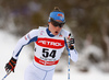 Kerttu Niskanen of Finland skiing in women 10km classic race of Viessmann FIS Cross country skiing World cup in Planica, Slovenia. Women 10km classic race of Viessmann FIS Cross country skiing World cup was held on Sunday, 21st of January 2018 in Planica, Slovenia.