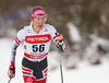 Teresa Stadlober of Austria skiing in women 10km classic race of Viessmann FIS Cross country skiing World cup in Planica, Slovenia. Women 10km classic race of Viessmann FIS Cross country skiing World cup was held on Sunday, 21st of January 2018 in Planica, Slovenia.