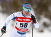 Krista Parmakoski of Finland skiing in women 10km classic race of Viessmann FIS Cross country skiing World cup in Planica, Slovenia. Women 10km classic race of Viessmann FIS Cross country skiing World cup was held on Sunday, 21st of January 2018 in Planica, Slovenia.