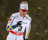 Oskar Svensson of Sweden skiing in men 15km classic race of Viessmann FIS Cross country skiing World cup in Planica, Slovenia. Men 15km classic race of Viessmann FIS Cross country skiing World cup was held on Sunday, 21st of January 2018 in Planica, Slovenia.