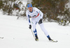 Perttu Hyvarinen of Finland skiing in men 15km classic race of Viessmann FIS Cross country skiing World cup in Planica, Slovenia. Men 15km classic race of Viessmann FIS Cross country skiing World cup was held on Sunday, 21st of January 2018 in Planica, Slovenia.