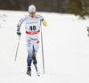Jens Burman of Sweden skiing in men 15km classic race of Viessmann FIS Cross country skiing World cup in Planica, Slovenia. Men 15km classic race of Viessmann FIS Cross country skiing World cup was held on Sunday, 21st of January 2018 in Planica, Slovenia.