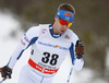Lari Lehtonen of Finland skiing in men 15km classic race of Viessmann FIS Cross country skiing World cup in Planica, Slovenia. Men 15km classic race of Viessmann FIS Cross country skiing World cup was held on Sunday, 21st of January 2018 in Planica, Slovenia.