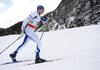 Matti Heikkinen of Finland skiing in men 15km classic race of Viessmann FIS Cross country skiing World cup in Planica, Slovenia. Men 15km classic race of Viessmann FIS Cross country skiing World cup was held on Sunday, 21st of January 2018 in Planica, Slovenia.