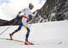 Marcus Hellner of Sweden skiing in men 15km classic race of Viessmann FIS Cross country skiing World cup in Planica, Slovenia. Men 15km classic race of Viessmann FIS Cross country skiing World cup was held on Sunday, 21st of January 2018 in Planica, Slovenia.