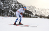 Iivo Niskanen of Finland skiing in men 15km classic race of Viessmann FIS Cross country skiing World cup in Planica, Slovenia. Men 15km classic race of Viessmann FIS Cross country skiing World cup was held on Sunday, 21st of January 2018 in Planica, Slovenia.