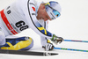 Calle Halfvarsson of Sweden skiing in men 15km classic race of Viessmann FIS Cross country skiing World cup in Planica, Slovenia. Men 15km classic race of Viessmann FIS Cross country skiing World cup was held on Sunday, 21st of January 2018 in Planica, Slovenia.