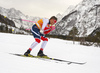 Johannes Hoesflot Klaebo of Norway skiing in men 15km classic race of Viessmann FIS Cross country skiing World cup in Planica, Slovenia. Men 15km classic race of Viessmann FIS Cross country skiing World cup was held on Sunday, 21st of January 2018 in Planica, Slovenia.